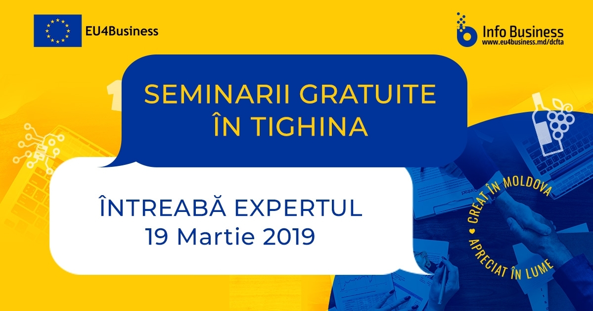INFO Business 2: Întreabă Expertul la Tighina