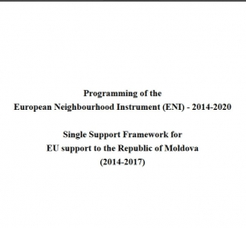 Single support framework for EU support to the ...