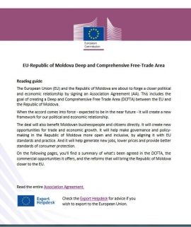 Reading Guide: EU-Republic of Moldova Deep and ...