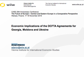 Economic Implications of the DCFTA Agreements f...