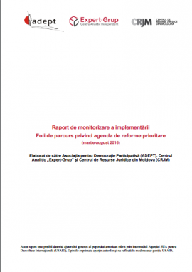 Monitoring report on the implementation of the ...