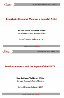 Moldovan exports and the impact of the DCFTA