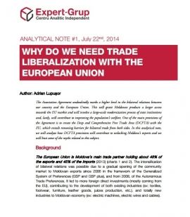 Why do we need the European Union trade liberal...