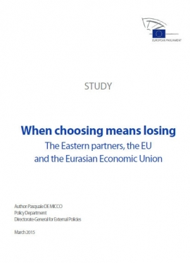 When Choosing Means Losing: The Eastern Partner...