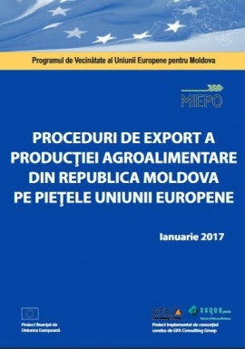 Export procedures for food products from the Re...